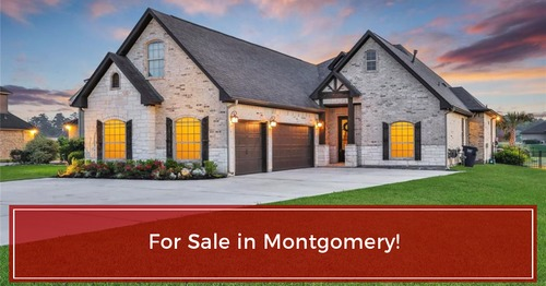 FOR SALE in Montgomery, Tx!