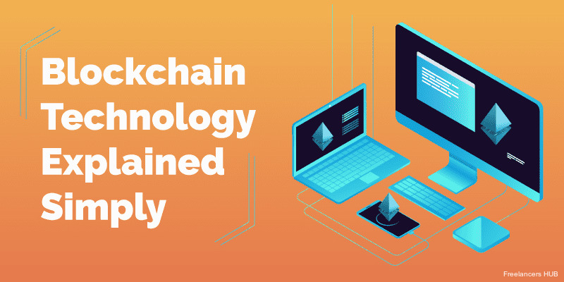 #Blockchain technology explained simply [Infographic]