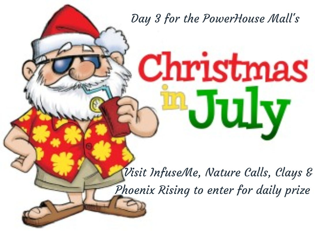 infuseme powerhousemallshopping uvbq christmasinjuly familyfun lebanon uppervalley hanover boston