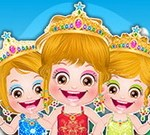 Baby Hazel Princess Makeover