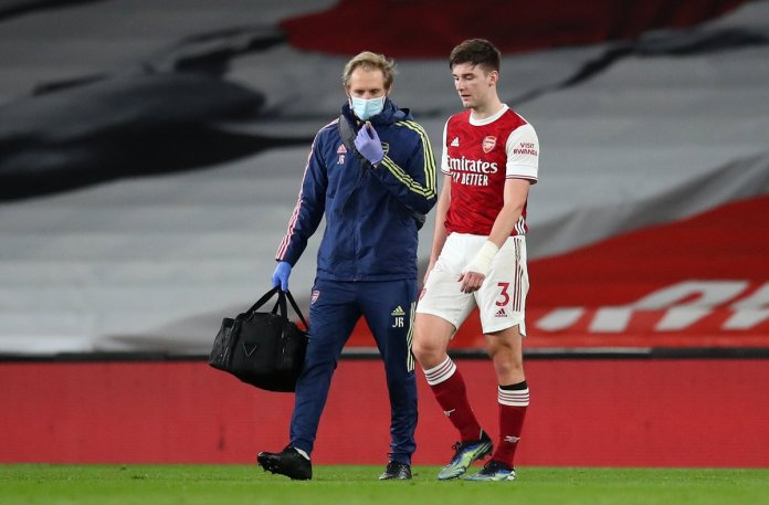 Kieren Tierney Arsenal Injury