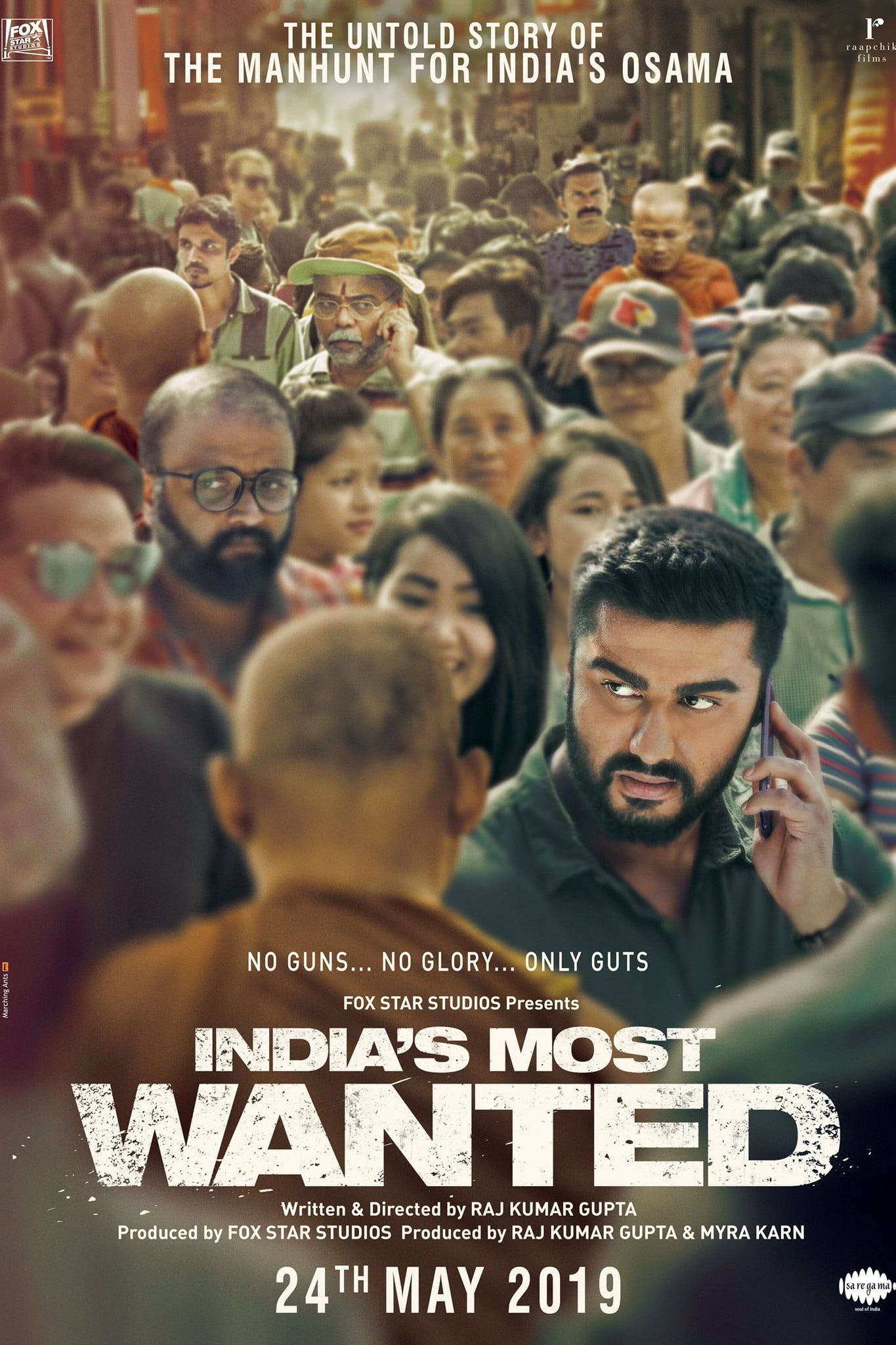 """Poster for the movie """"India's Most Wanted"""""""