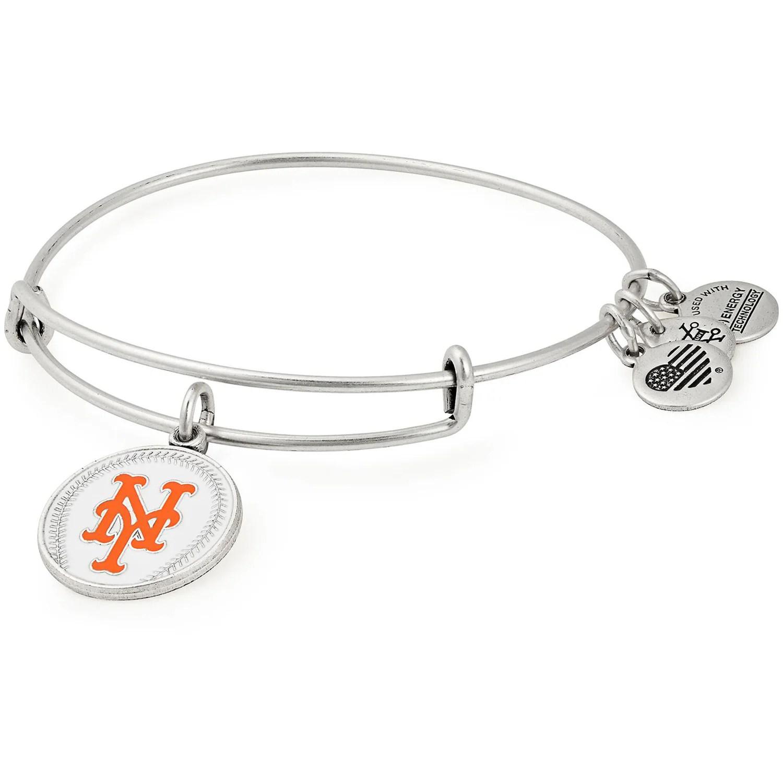 Mlb New York Mets Alex Amp Ani Women S Stack Bracelet