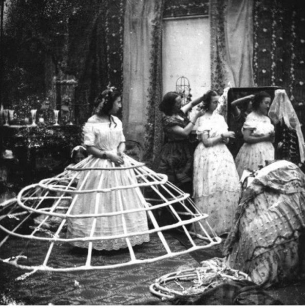 Hooped – A History of Hoop Skirts