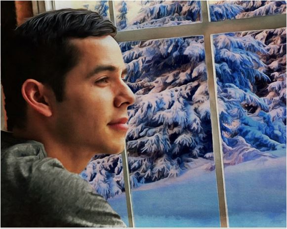 "David Archuleta Wallpaper available by purchasing ""The Prayer"" through Pledge Music"