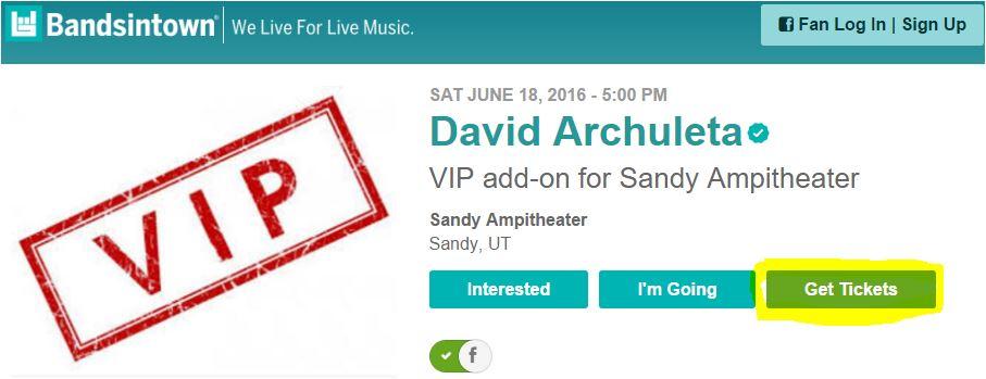 Sandy Bandisintown VIP
