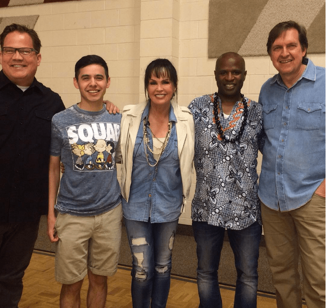 Jason Deere, David Archuleta, Marie Osmond, Alex Boye, Dan Truman Redeemer Concert in ID Credit David Archuleta