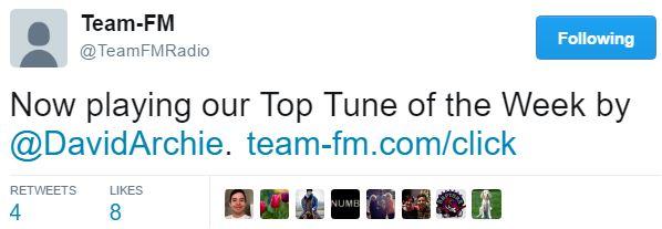 TEam FM tweet Up All Night