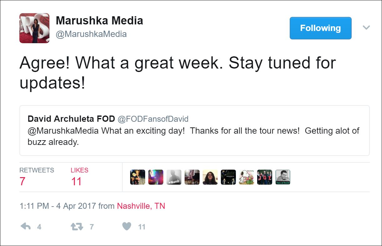 what a great week marushka media
