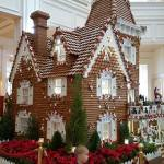 16 foot Gingerbread House is a Candy Store in Disney's Grand Floridian Lobby!