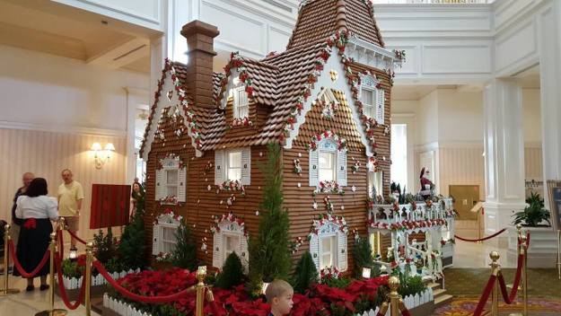 Gingerbread House Candy Store in Disney's Grand Floridian Lobby!