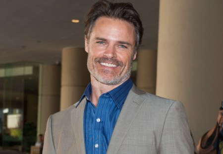 "BEVERLY HILLS, CA - JULY 24: Dylan Neal attends Hallmark Channel and Hallmark Movie Channel's ""2013 Summer TCA"" Press Gala at The Beverly Hilton Hotel on July 24, 2013 in Beverly Hills, California. (Photo by Valerie Macon/Getty Images)"
