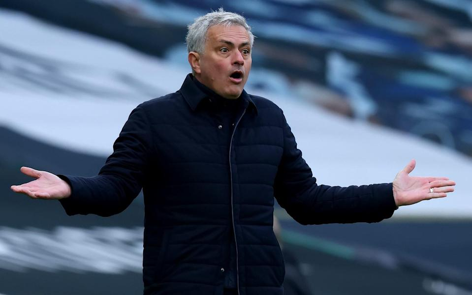 Jose Mourinho got the axe at Spurs on Monday after fewer than 18 months in north London - Shaun Brooks