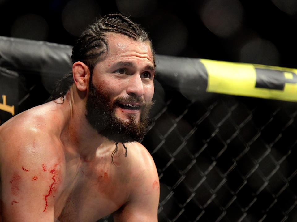 Jorge Masvidal will headline UFC 261 in front of 15,000 fans in his home state of Florida this Saturday (Getty Images)