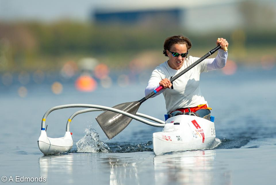 2016 Paralympic champion Emma Wiggs is hoping to compete in two boats at this summer's rescheduled Games © A Edmonds