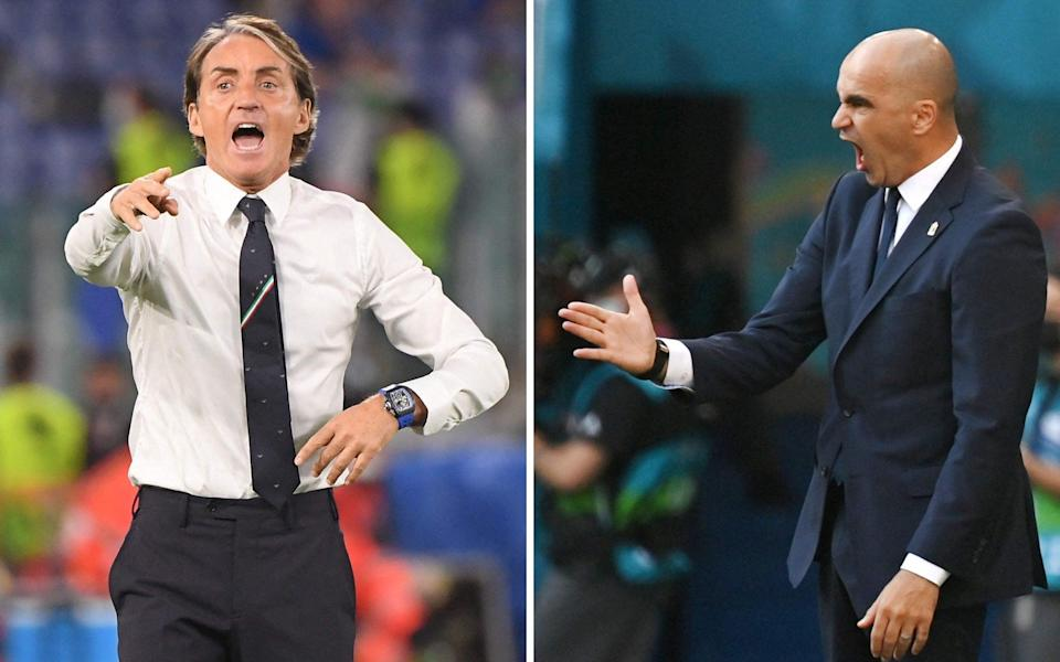 Belgium vs Italy, Euro 2020 quarter-final: What time is kick-off, what TV channel is it on and what is our prediction? - JONATHAN NACKSTRAND,ALBERTO LINGRIA/POOL/AFP via Getty