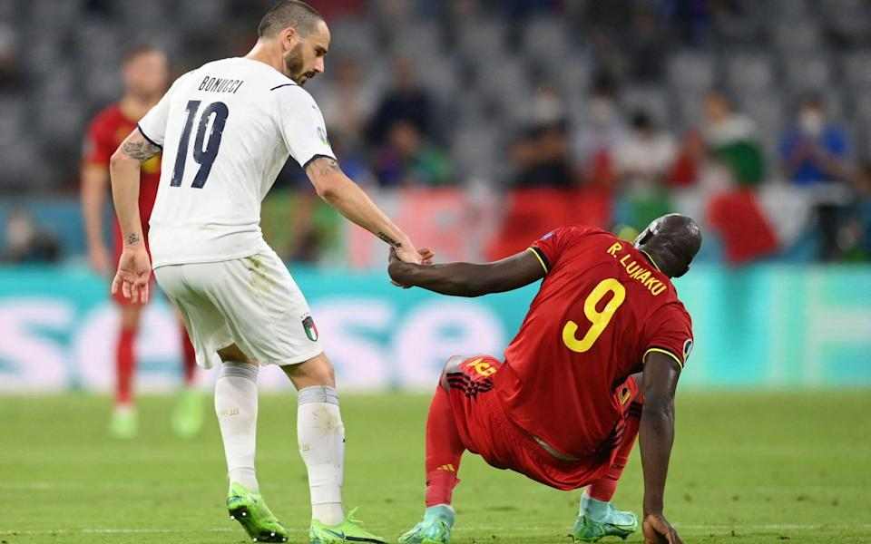 Italy's win over Belgium proves defending is no country for old men - MATTHIAS HANGST /AFP