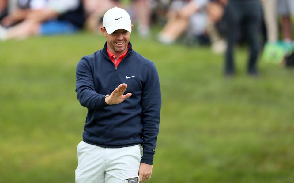 Rory McIlroy bounces back from mediocre start to make cut at Irish Open - Brian Lawless /PA