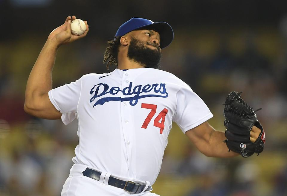 Kenley Jansen is one of today's top closers currently with the Los Angeles Dodgers.