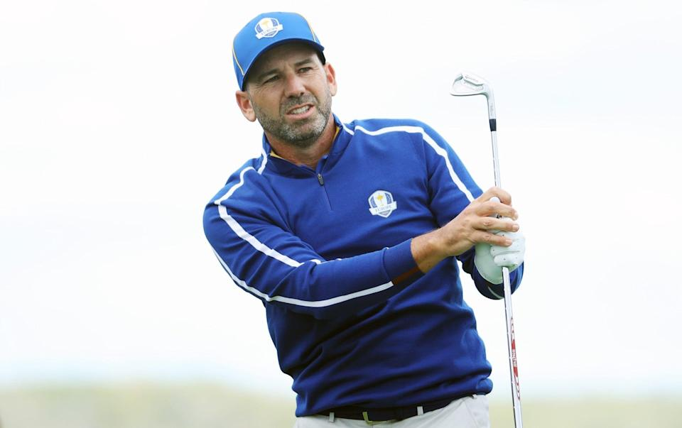 Sergio Garcia is the highest points scorer in Ryder Cup history - GETTY IMAGES