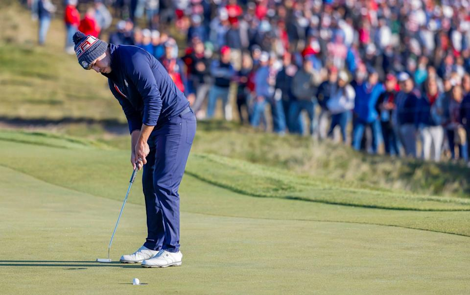 Ryder Cup sportsmanship row brewing over players' failures to concede short-range putts - SHUTTERSTOCK