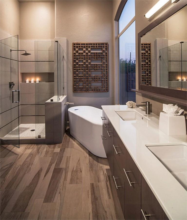 65+ Elegant Master Bathroom Design Ideas For Amazing Homes ...