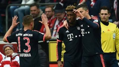 lewandoski esultanza bayern Bundesliga