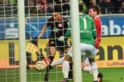 Ben Hatira gol Eintracht Bundesliga