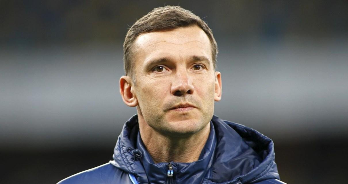 Andriy Shevchenko in campo