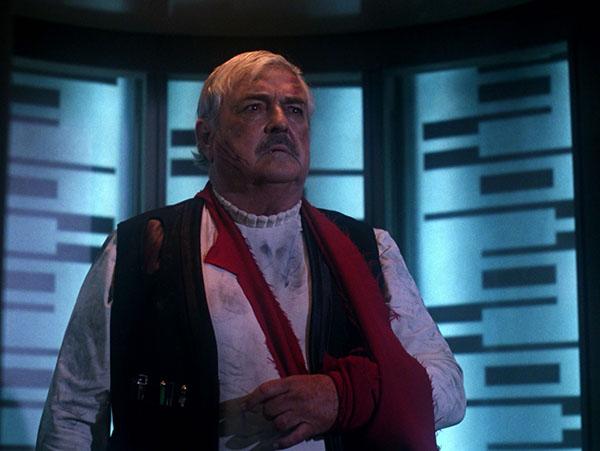 Scotty sul teletrasporto in Star Trek: The Next generation