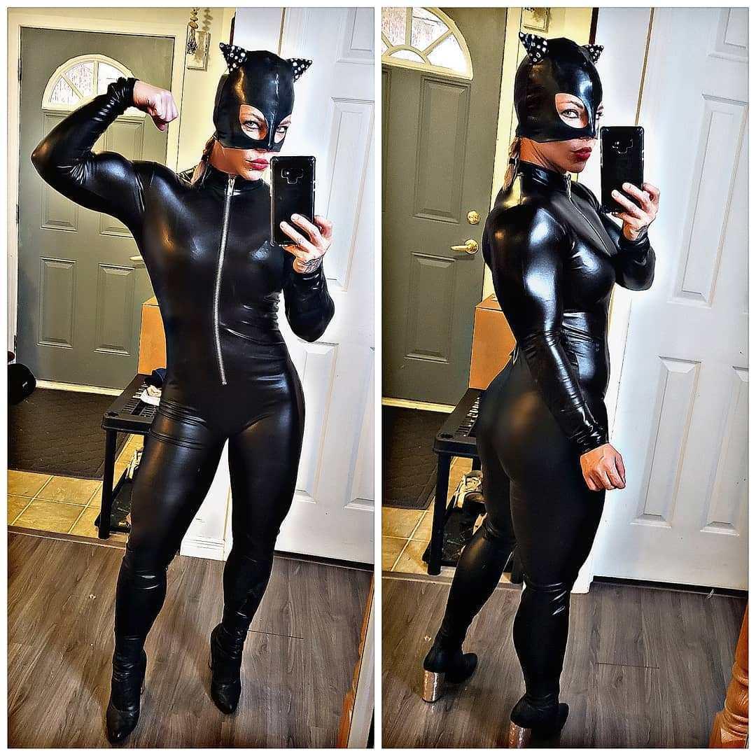 Che muscoli Catwoman