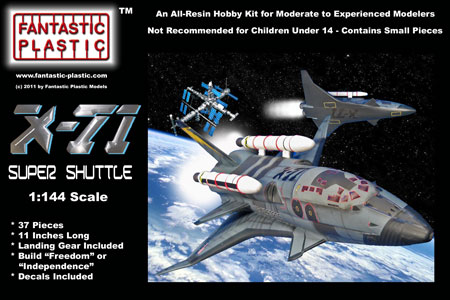 """X-71 Super Shuttle from """"Armageddon"""" by Fantastic Plastic ..."""