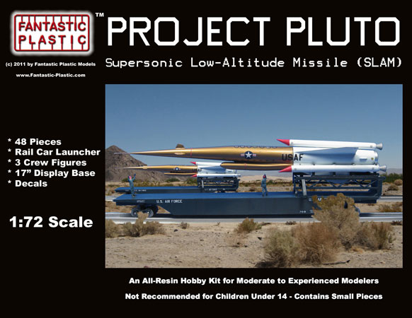 Project Pluto Slam Missile 1 72 Model Kit By Fantastic