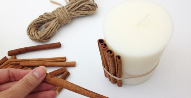 Scented candles DIY