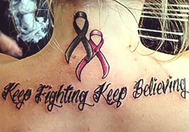 Fight and believe-Crazy 3D Tattoos