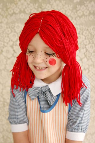Rag Doll Halloween Costume - Kid-Friendly Halloween DIY Projects