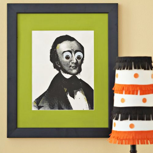 Googly Eye Photographs - Kid-Friendly Halloween DIY Projects