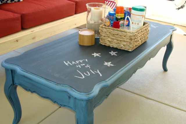 Chalkboard coffee table-Cool Tables