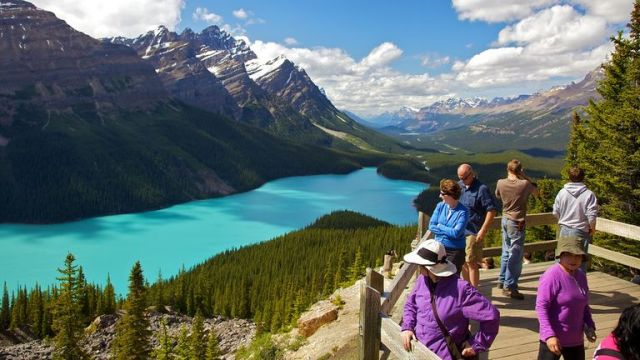 Peyto Lake - clearest waters