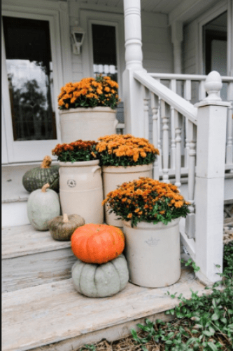 The rustic fall decoration - fall decorating ideas