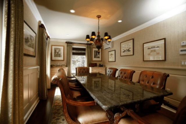 The classical line - modern conference room design ideas