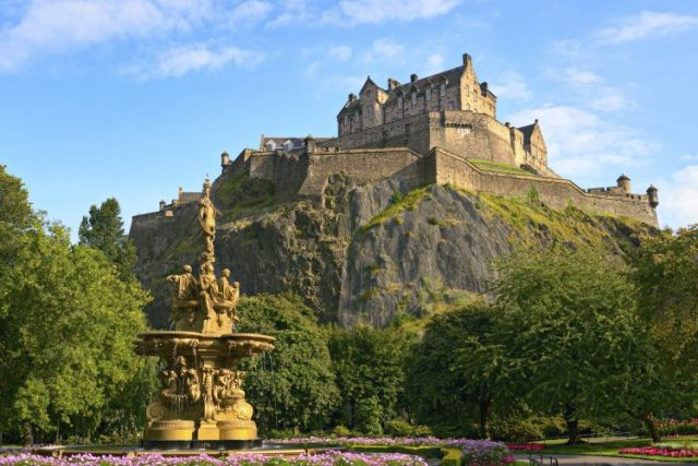 Edinburgh Castle - most beautiful castles