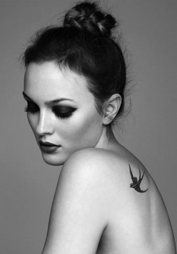 Leighton Meester - celebrities with sexiest tattoos