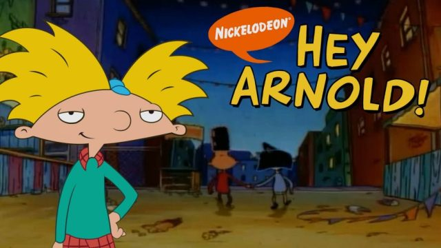Hey Arnold! - popular cartoons in the 90s