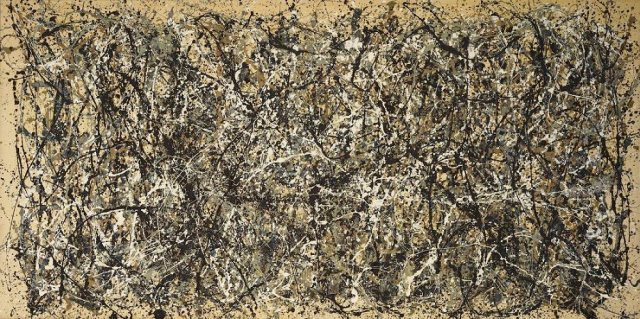 Jackson Pollock – One: Number 31, 1950 (1950) - most famous paintings