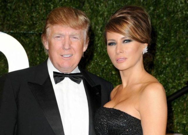 Trump gets his haircuts from his wife Melania