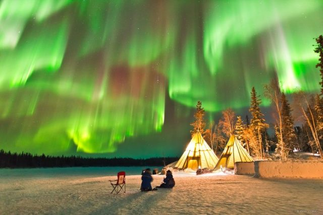 Canada - destinations for aurora borealis or northern lights