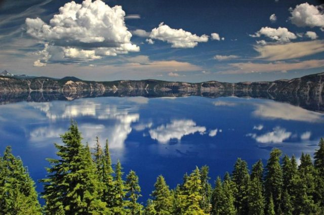 Crater Lake, Oregon, US - deepest lakes