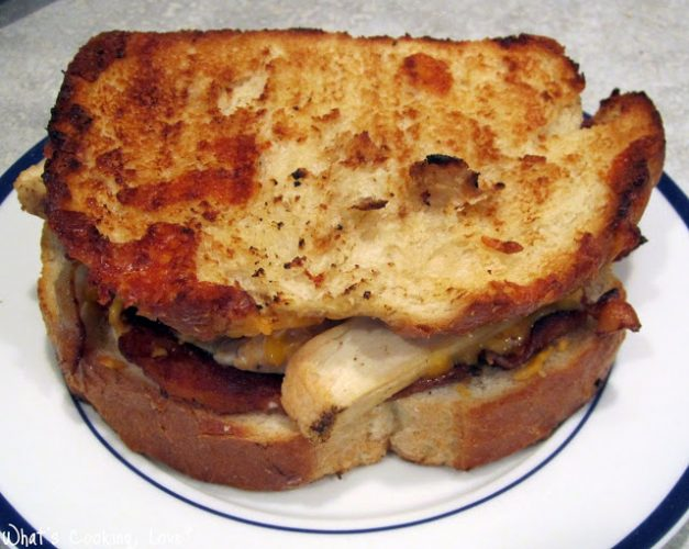 Grilled Chicken and Cheese Sandwich