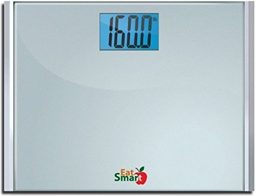 Eatsmart Precision Plus Digital Bathroom Scale - Digital Bathroom Scale